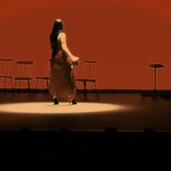 Decorado para Cabaret Sin Piedad. Teatro Colón