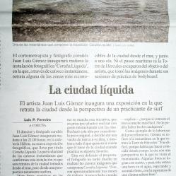 La Ciudad Líquida (prensa)