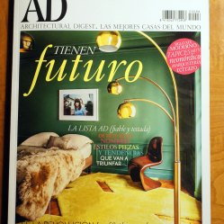 Revista AD Nov 2014 (mobiliario para Casa V)