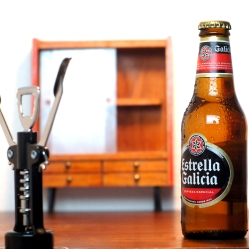 Decorado en miniatura para Estrella Galicia